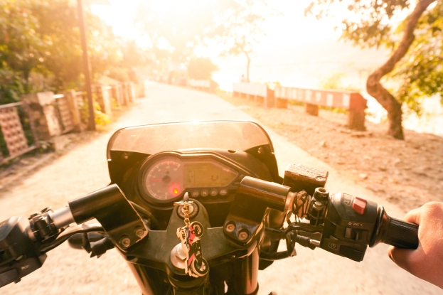 ​Travel tip: befriend local motorbike owners. They know all the short cuts in and around town. Rishikesh, India.